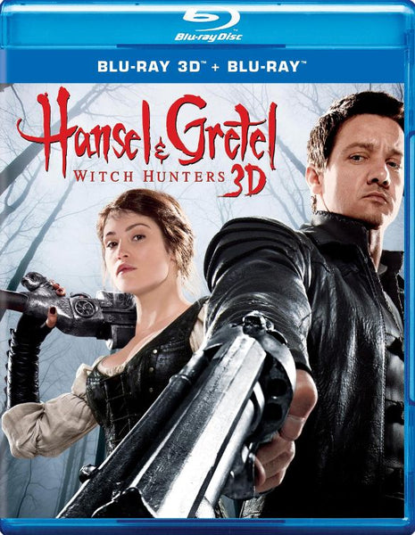 Hansel & Gretel Witch Hunters [3D Bluray Only] - OnlyTheDisc