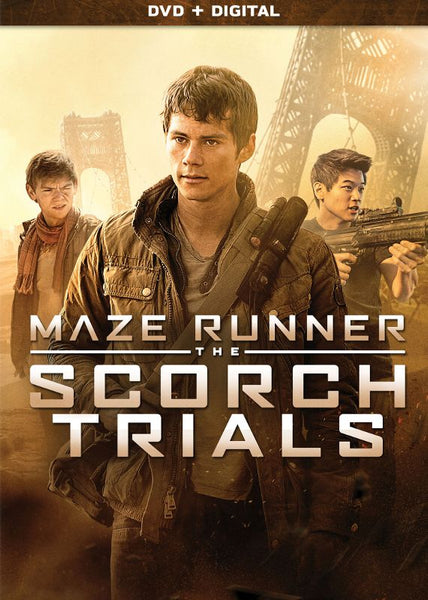 Maze Runner: The Scorch Trials [DVD Disc Only] - OnlyTheDisc