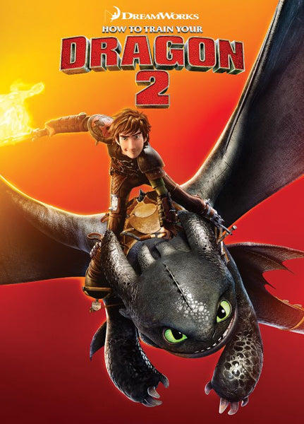 How to Train Your Dragon 2  [DVD Disc Only] - OnlyTheDisc