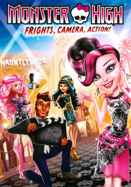 Monster High: Frights, Camera, Action! [DVD Disc Only] - OnlyTheDisc