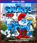 The Smurfs 3D 3-d Bluray Disc Movie Cheap Blue Ray Blu-ray