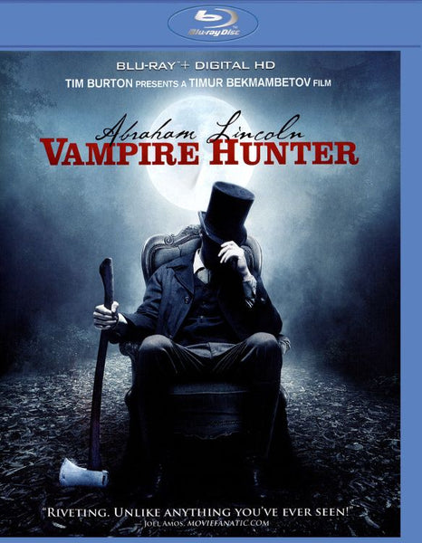Abraham Lincoln: Vampire Hunter [Bluray Disc Only] - OnlyTheDisc