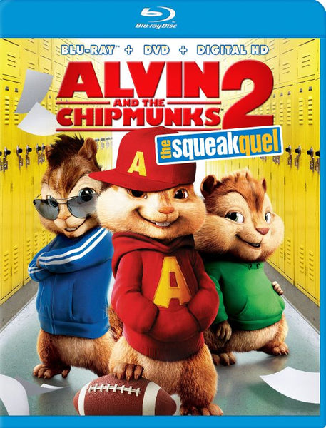 Alvin and the Chipmunks The Squeakquel [Bluray Disc Only] - OnlyTheDisc