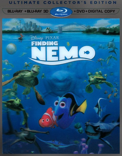 Finding Nemo [3D Bluray Only] - OnlyTheDisc