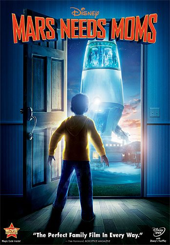 Mars Needs Moms [DVD Disc Only] - OnlyTheDisc