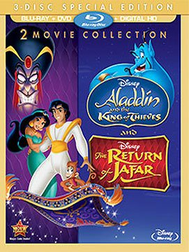 Aladdin 2 & 3 The Return of Jafar The King of Thieves [Bluray Disc Only] - OnlyTheDisc