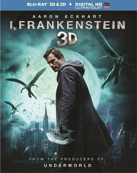 I, Frankenstein [3D/2D Bluray Only] - OnlyTheDisc
