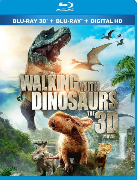 Walking with the Dinosaurs 3D 3-d Bluray Disc Movie Cheap Blue Ray Blu-ray