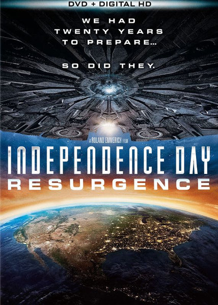 Independence Day: Resurgence [DVD Disc Only] - OnlyTheDisc