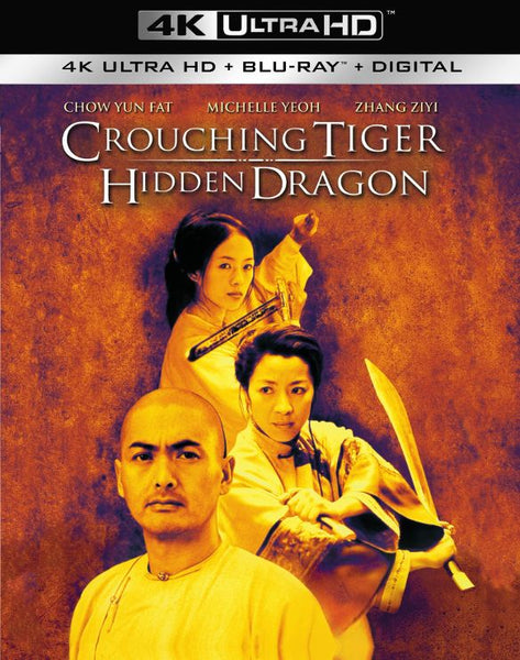 Crouching Tiger, Hidden Dragon [4K UHD Bluray Disc Only] - OnlyTheDisc