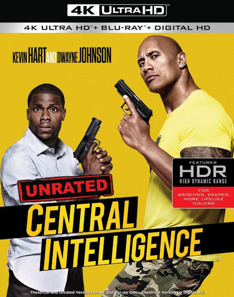 Central Intelligence [4K UHD Bluray Disc Only] - OnlyTheDisc