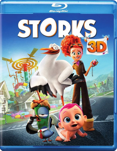 Storks 3D 3-d Bluray Disc Movie Cheap Blue Ray Blu-ray
