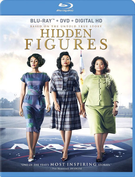 Hidden Figures [Bluray Disc Only] - OnlyTheDisc