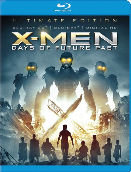X-men Days Of Future Past 3D 3-d Bluray Disc Movie Cheap Blue Ray Blu-ray