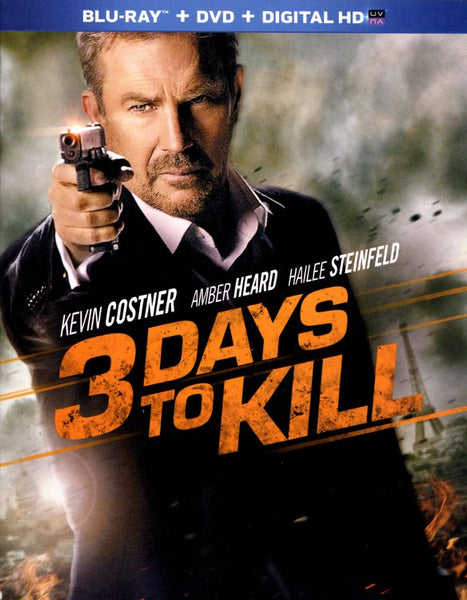 3 Days To Kill [Bluray Disc Only] - OnlyTheDisc