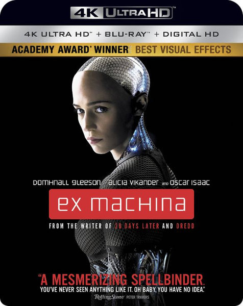 Ex Machina [4K UHD Bluray Disc Only] - OnlyTheDisc