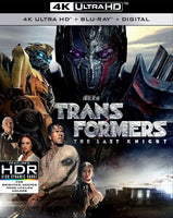 Transformers 5 The Last Knight [4K UHD Bluray Disc Only] - OnlyTheDisc