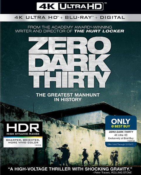 Zero Dark Thirty [4K UHD Bluray Disc Only] - OnlyTheDisc
