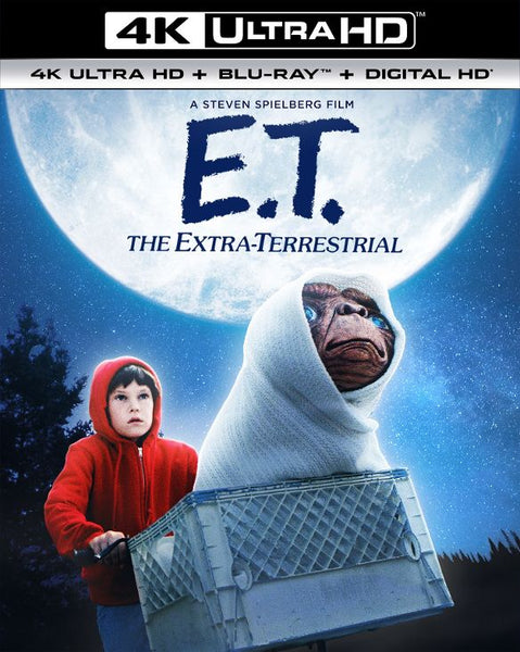 E.T. the Extra-Terrestrial [4K UHD Bluray Disc Only] - OnlyTheDisc