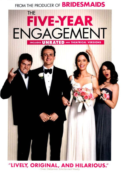 The Five-year Engagement [DVD Disc Only] - OnlyTheDisc
