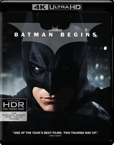 Batman Begins [4K UHD Bluray Disc Only] - OnlyTheDisc