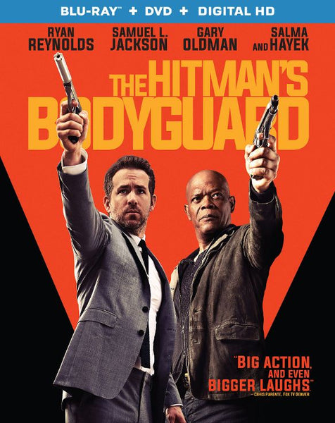 The Hitman's Bodyguard [Bluray Disc Only] - OnlyTheDisc
