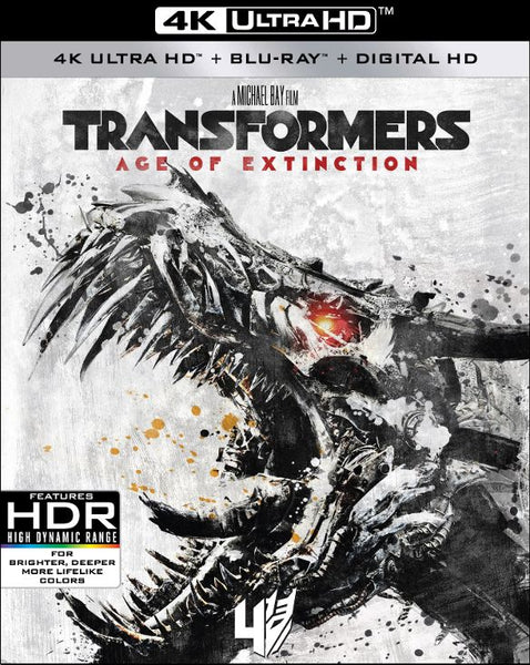 Transformers 4 Age of Extinction [4K UHD Bluray Disc Only] - OnlyTheDisc