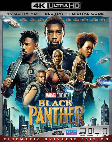 Black Panther [4K UHD Bluray Disc Only] - OnlyTheDisc
