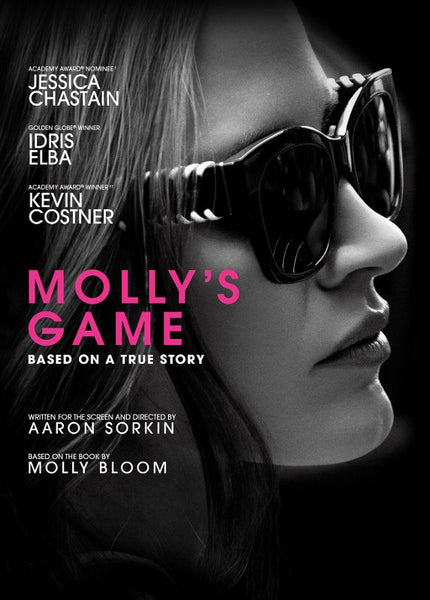 Molly's Game [DVD Disc Only] - OnlyTheDisc