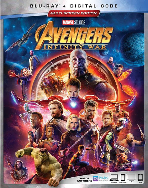 Avengers: Infinity War  [Bluray Disc Only] - OnlyTheDisc
