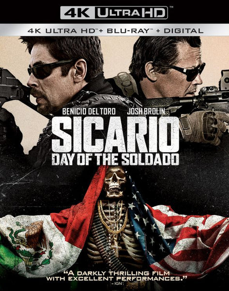 Sicario: Day of the Soldado [4K UHD Bluray Disc Only] - OnlyTheDisc