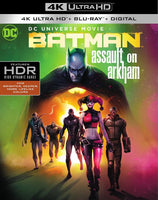 Batman Assault On Arkham [4K UHD Bluray Disc Only] - OnlyTheDisc