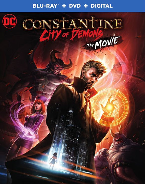 Constantine: City of Demons [DVD Disc Only] - OnlyTheDisc