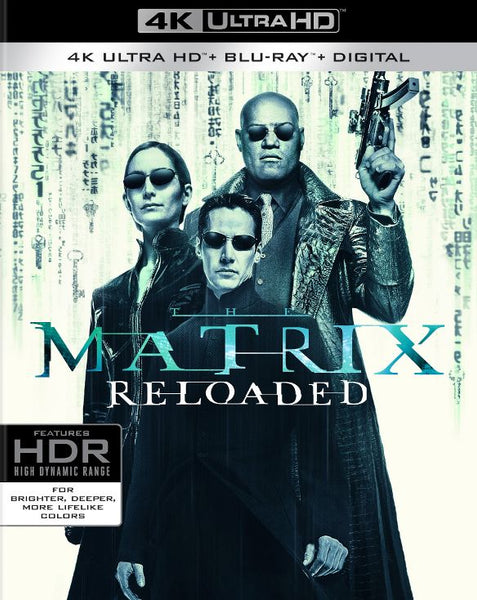 The Matrix Reloaded [4K UHD Bluray Disc Only] - OnlyTheDisc