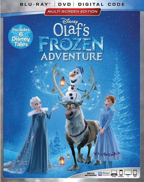 Olaf's Frozen Adventure  [DVD Disc Only] - OnlyTheDisc