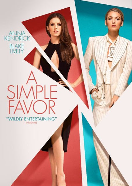A Simple Favor [DVD Disc Only] - OnlyTheDisc