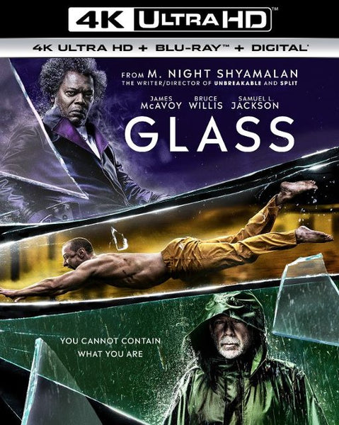 Glass [4K UHD Bluray Disc Only] - OnlyTheDisc