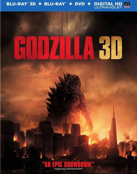 Godzilla [3D Bluray Only] - OnlyTheDisc