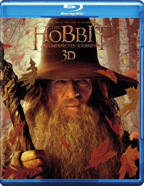 The Hobbit: An Unexpected Journey 3D 3-d Bluray Disc Movie Cheap Blue Ray Blu-ray