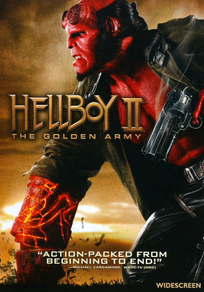 Hellboy 2 The Golden Army [DVD Disc Only] - OnlyTheDisc