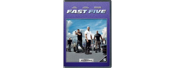 Fast Five [DVD Disc Only] - OnlyTheDisc
