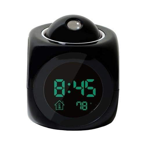 Digital Alarm Clock With LED Display And LCD Projection