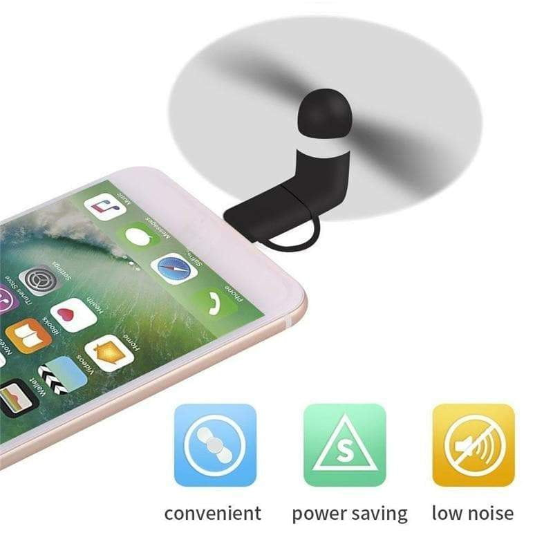 Mini Smartphone Powered Fan