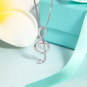 Sing Me A Melody Pendant Necklace