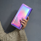 Holographic Clutch Wallet Organizer - 6 Colors