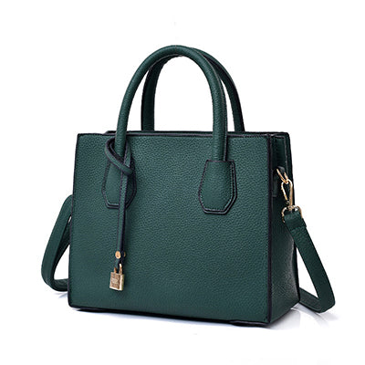 Vintage Casual Leather Handbags - 4 Colors