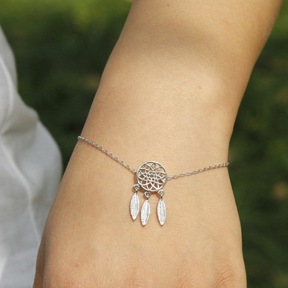 Dream Catcher Statement Bracelet - 2 Colors
