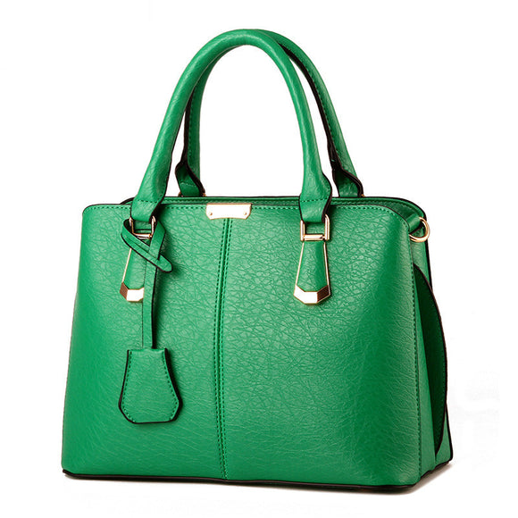 Concise Leisure Fashion Office Handbag - 10 Colors
