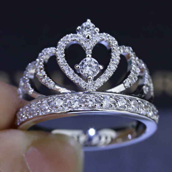 Handmade Sterling Silver Crown Ring