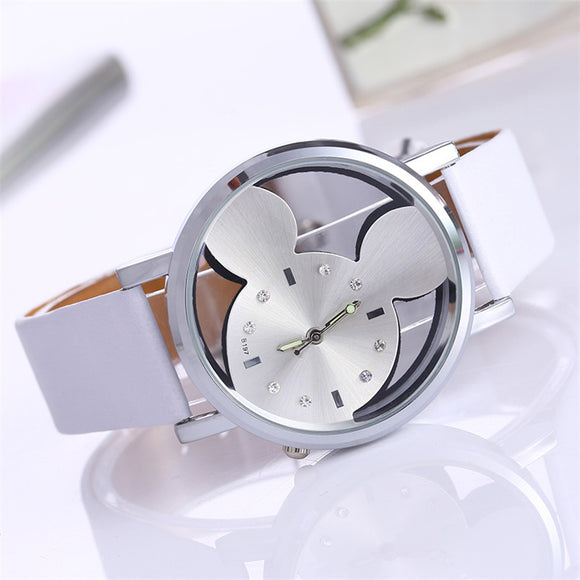 Lux Mickey Inspired Wrist Watch - 4 Colors